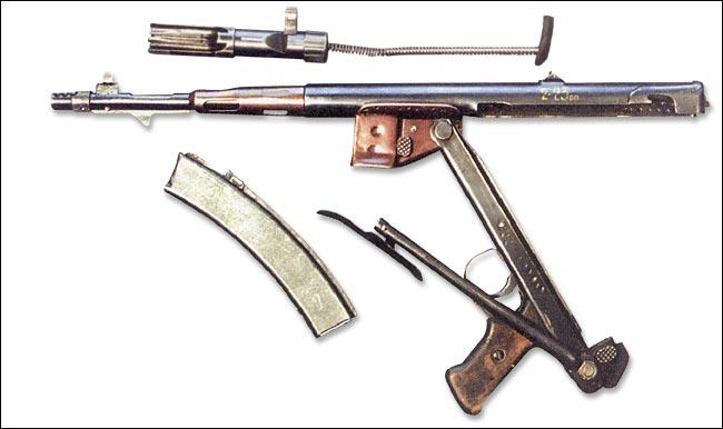 Пистолет-пулемет И. К.