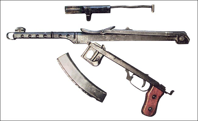 Пистолет-пулемет А. И. Судаева
